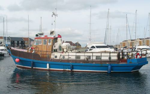 Sea Angling Sea Fishing Charter Boat Panther