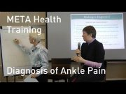 META Health Training Diagnosis of Ankle Pain